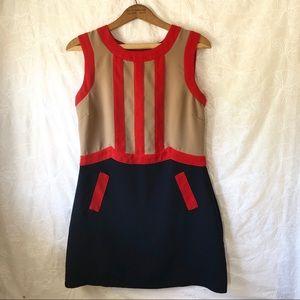Bea & Dot by ModCloth Mod Sheath Dress Sz L